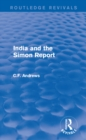 Routledge Revivals: India and the Simon Report (1930) - eBook