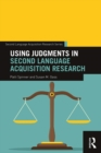Using Judgments in Second Language Acquisition Research - eBook