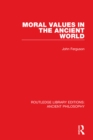 Moral Values in the Ancient World - eBook