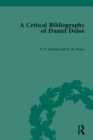 A Critical Bibliography of Daniel Defoe - eBook