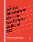 The American Bibliography of Slavic and East European Studies : 1993 - eBook