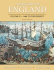 A History of England, Volume 2 : 1688 to the present - eBook