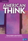 American Think Level 2 Teacher's Edition - Book