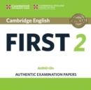 Cambridge English First 2 Audio CDs (2) : Authentic Examination Papers - Book