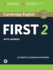 FCE Practice Tests : Cambridge English First 2 Student's Book with Answers and Audio: Authentic Examination Papers - Book