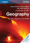 Cambridge International IGCSE : Cambridge IGCSE (R) Geography Teacher's Resource CD-ROM - Book
