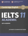 Cambridge IELTS 11 Academic Student's Book with Answers : Authentic Examination Papers - Book
