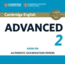 Cambridge English Advanced 2 Audio CDs (2) : Authentic Examination Papers - Book