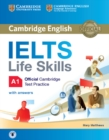 IELTS Life Skills Official Cambridge Test Practice A1 Student's Book with Answers and Audio - Book