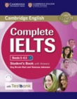 Complete IELTS Bands 5-6.5 Student's Book with Answers with CD-ROM with Testbank - Book