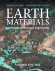 Earth Materials 2nd Edition : Introduction to Mineralogy and Petrology - Book