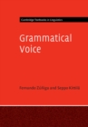 Cambridge Textbooks in Linguistics : Grammatical Voice - Book