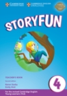 Storyfun Level 4 Teacher's Book with Audio - Book