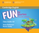Fun for Starters Class Audio CD - Book