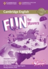 Fun for Movers Teacher's Book with Downloadable Audio - Book