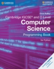Cambridge IGCSE (R) and O Level Computer Science Programming Book for Python - Book