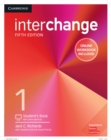 Interchange Level 1 Student's Book with Online Self-Study and Online Workbook - Book