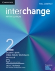 Interchange Level 2 Full Contact with Online Self-Study - Book