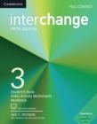 Interchange Level 3 Full Contact with Online Self-Study - Book