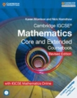 Cambridge IGCSE (R) Mathematics Core and Extended Coursebook with CD-ROM and IGCSE Mathematics Online Revised Edition - Book