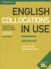 English Collocations in Use Advanced Book with Answers : How Words Work Together for Fluent and Natural English - Book