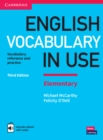 English Vocabulary in Use Elementary Book with Answers and Enhanced eBook : Vocabulary Reference and Practice - Book