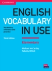 English Vocabulary in Use Elementary Book with Answers : Vocabulary Reference and Practice - Book