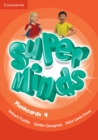 Super Minds Level 4 Flashcards (Pack of 89) - Book
