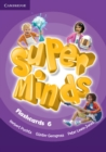 Super Minds Level 6 Flashcards (Pack of 98) - Book