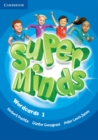 Super Minds Level 1 Wordcards (Pack of 81) - Book