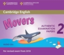 Cambridge English Young Learners 2 for Revised Exam from 2018 Movers Audio CDs : Authentic Examination Papers - Book