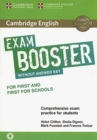 Cambridge English Exam Booster for First and First for Schools without Answer Key with Audio : Comprehensive Exam Practice for Students - Book