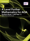A Level Further Mathematics for AQA Student Book 1 (AS/Year 1) with Cambridge Elevate Edition (2 Years) - Book