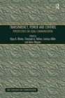 Transparency, Power, and Control : Perspectives on Legal Communication - eBook