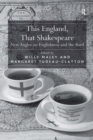 This England, That Shakespeare : New Angles on Englishness and the Bard - eBook