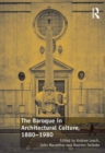 The Baroque in Architectural Culture, 1880-1980 - eBook