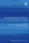 Legal Education : Simulation in Theory and Practice - eBook