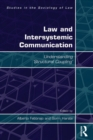 Law and Intersystemic Communication : Understanding 'Structural Coupling' - eBook