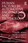 Human Factors in Automotive Engineering and Technology - eBook