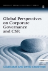 Global Perspectives on Corporate Governance and CSR - eBook