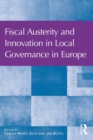 Fiscal Austerity and Innovation in Local Governance in Europe - eBook