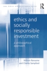 Ethics and Socially Responsible Investment : A Philosophical Approach - eBook