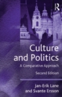 Culture and Politics : A Comparative Approach - eBook