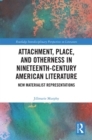Attachment, Place, and Otherness in Nineteenth-Century American Literature : New Materialist Representations - eBook