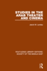 Studies in the Arab Theater and Cinema - eBook