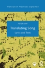 Translating Song : Lyrics and Texts - eBook
