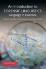 An Introduction to Forensic Linguistics : Language in Evidence - eBook