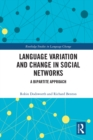 Language variation and change in social networks : A bipartite approach - eBook