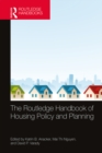 The Routledge Handbook of Housing Policy and Planning - eBook