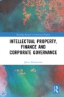 Intellectual Property, Finance and Corporate Governance - eBook